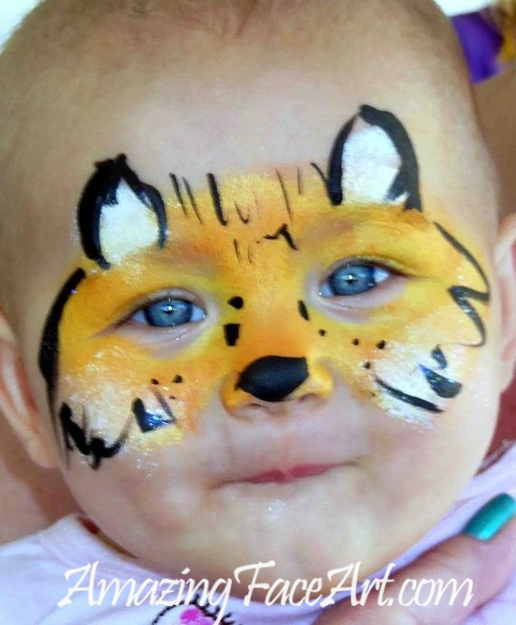 fox face painting CT