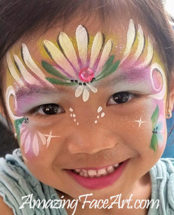 princess face painting CT