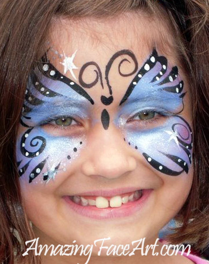 butterfly face painting west hartford CT