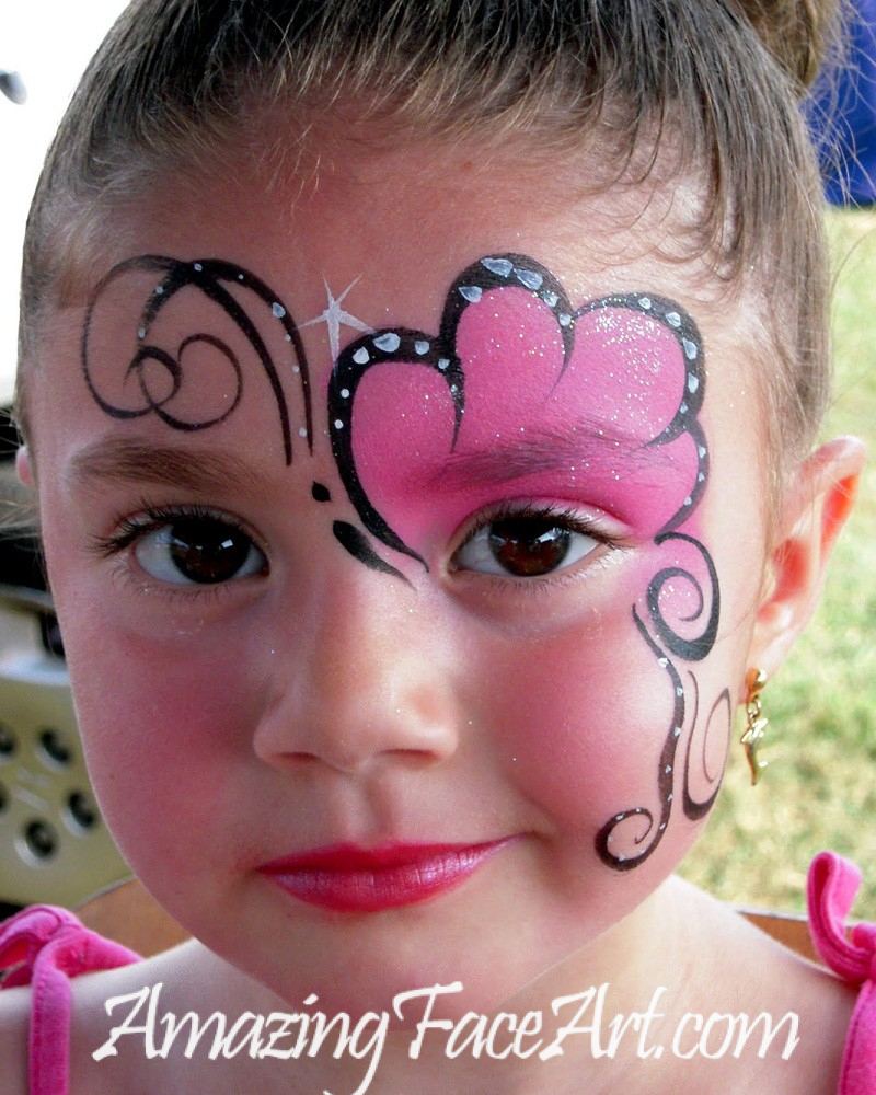 butterfly face painting in CT