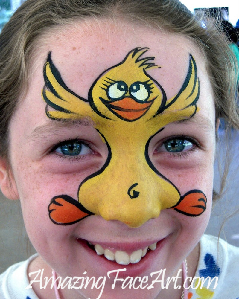 lucky duck face painting for parties
